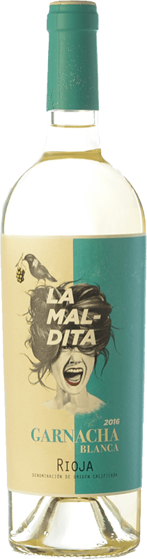 9,95 € Free Shipping | White wine La Maldita Crianza D.O.Ca. Rioja The Rioja Spain Grenache White Bottle 75 cl
