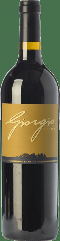 116,95 € Free Shipping | Red wine La Massa Giorgio Primo I.G.T. Toscana Tuscany Italy Merlot, Cabernet Sauvignon, Sangiovese Bottle 75 cl