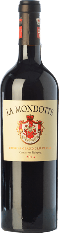 246,95 € Free Shipping | Red wine La Mondotte Reserva A.O.C. Saint-Émilion Grand Cru Bordeaux France Merlot, Cabernet Franc Bottle 75 cl