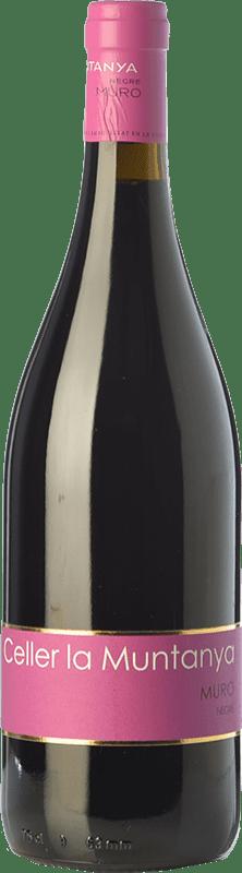 13,95 € Envío gratis | Vino tinto La Muntanya Joven D.O. Alicante Comunidad Valenciana España Garnacha, Monastrell, Garnacha Tintorera, Bonicaire Botella 75 cl