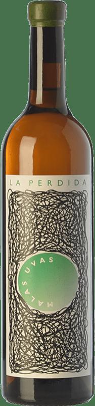 17,95 € | White wine La Perdida Malas Uvas Crianza Galicia Spain Palomino Fino, Doña Blanca Bottle 75 cl