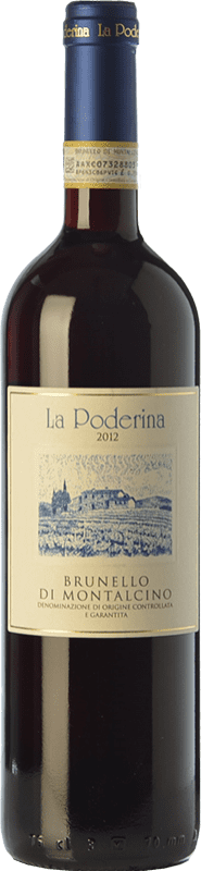 49,95 € Free Shipping | Red wine La Poderina D.O.C.G. Brunello di Montalcino Tuscany Italy Sangiovese Bottle 75 cl