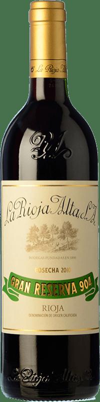 49,95 € 免费送货 | 红酒 Rioja Alta 904 Gran Reserva D.O.Ca. Rioja 拉里奥哈 西班牙 Tempranillo, Graciano 瓶子 75 cl