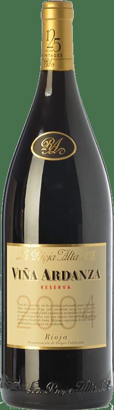59,95 € Free Shipping | Red wine Rioja Alta Viña Ardanza Reserva 2008 D.O.Ca. Rioja The Rioja Spain Tempranillo, Grenache Magnum Bottle 1,5 L