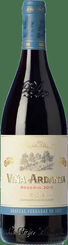 22,95 € 免费送货 | 红酒 Rioja Alta Viña Ardanza Reserva D.O.Ca. Rioja 拉里奥哈 西班牙 Tempranillo, Grenache 瓶子 75 cl