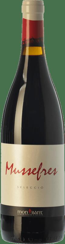 9,95 € | Red wine Serra d'Almos Mussefres Selecció Crianza D.O. Montsant Catalonia Spain Syrah, Cabernet Sauvignon, Carignan Bottle 75 cl