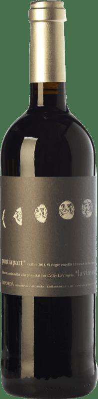 16,95 € Envío gratis | Vino tinto La Vinyeta Puntiapart Crianza D.O. Empordà Cataluña España Cabernet Sauvignon, Cariñena Botella 75 cl