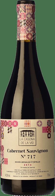 17,95 € Free Shipping | Red wine Lagar de Isilla La Casona de la Vid Crianza I.G.P. Vino de la Tierra de Castilla y León Castilla y León Spain Cabernet Sauvignon Bottle 75 cl