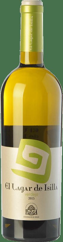 8,95 € Free Shipping | White wine Lagar de Isilla D.O. Rueda Castilla y León Spain Verdejo Bottle 75 cl