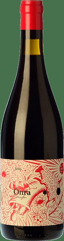 14,95 € 免费送货 | 红酒 Lagravera Ónra Negre Joven D.O. Costers del Segre 加泰罗尼亚 西班牙 Merlot, Grenache, Cabernet Sauvignon 瓶子 75 cl