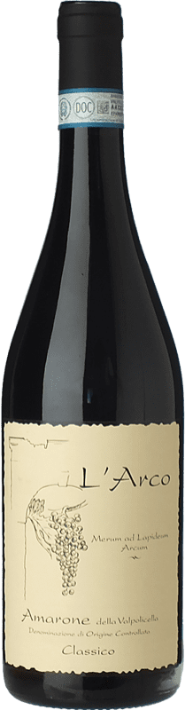58,95 € Envoi gratuit   Vin rouge L'Arco Vini D.O.C.G. Amarone della Valpolicella Vénétie Italie Corvina, Rondinella, Molinara Bouteille 75 cl