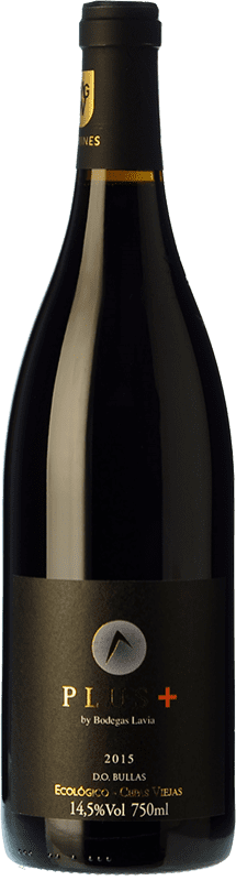 18,95 € | Red wine Lavia Plus Crianza D.O. Bullas Region of Murcia Spain Monastrell Bottle 75 cl