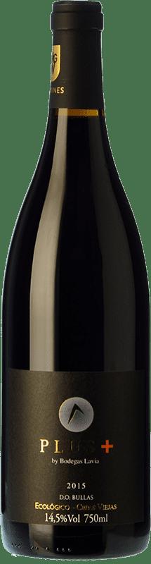 18,95 € Envoi gratuit | Vin rouge Lavia Plus Crianza D.O. Bullas Région de Murcie Espagne Monastrell Bouteille 75 cl