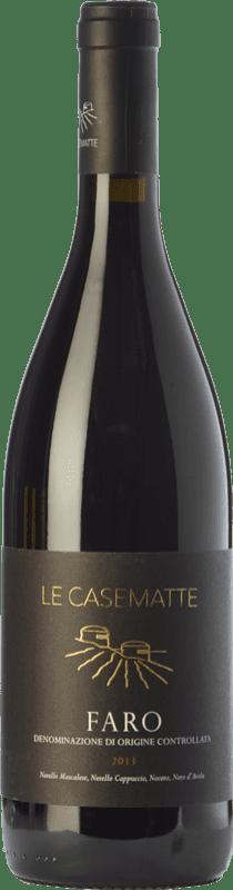 23,95 € Free Shipping | Red wine Le Casematte D.O.C. Faro Sicily Italy Nero d'Avola, Nerello Mascalese, Nerello Cappuccio, Nocera Bottle 75 cl