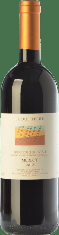 45,95 € Free Shipping   Red wine Le Due Terre D.O.C. Colli Orientali del Friuli Friuli-Venezia Giulia Italy Merlot Bottle 75 cl