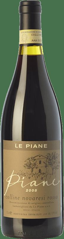 44,95 € Free Shipping   Red wine Le Piane Rosso Piane D.O.C. Colline Novaresi Piemonte Italy Nebbiolo, Croatina, Vespolina Bottle 75 cl