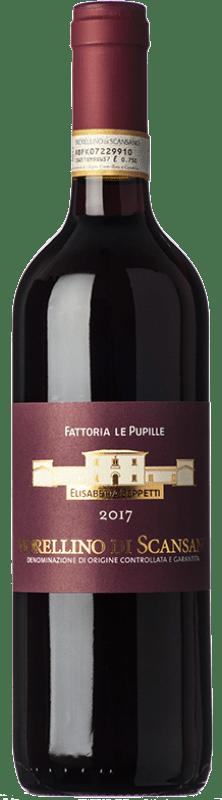 12,95 € Free Shipping | Red wine Le Pupille D.O.C.G. Morellino di Scansano Tuscany Italy Grenache, Sangiovese, Malvasia Black Bottle 75 cl