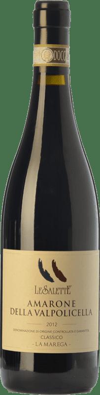 49,95 € | Red wine Le Salette La Marega D.O.C.G. Amarone della Valpolicella Veneto Italy Sangiovese, Corvina, Rondinella, Corvinone, Croatina, Dindarella Bottle 75 cl