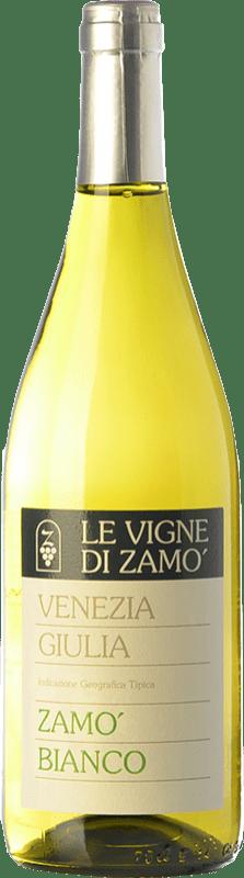 9,95 € Free Shipping | White wine Zamò Bianco I.G.T. Friuli-Venezia Giulia Friuli-Venezia Giulia Italy Riesling, Pinot Grey, Sauvignon, Ribolla Gialla, Friulano Bottle 75 cl