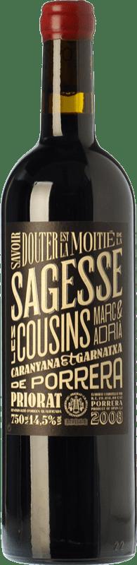 29,95 € 免费送货 | 红酒 Les Cousins La Sagesse Crianza D.O.Ca. Priorat 加泰罗尼亚 西班牙 Grenache, Carignan 瓶子 75 cl