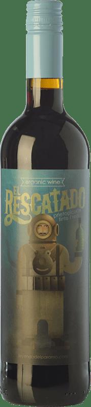 9,95 € | Red wine Leyenda del Páramo El Rescatado Joven D.O. Tierra de León Castilla y León Spain Prieto Picudo Bottle 75 cl