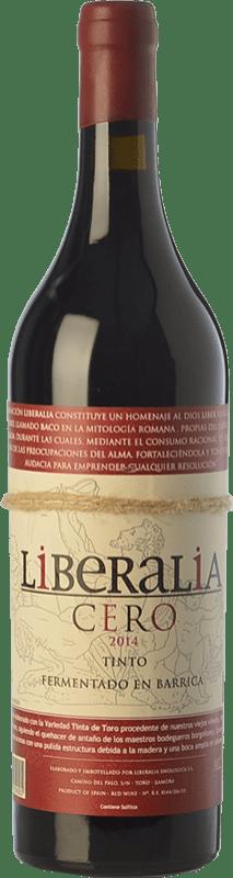 15,95 € Free Shipping | Red wine Liberalia Cero Crianza D.O. Toro Castilla y León Spain Tinta de Toro Bottle 75 cl