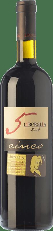 41,95 € Free Shipping | Red wine Liberalia Cinco Reserva D.O. Toro Castilla y León Spain Tinta de Toro Bottle 75 cl