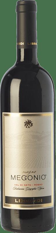 15,95 € Free Shipping | Red wine Librandi Magno Megonio I.G.T. Val di Neto Calabria Italy Magliocco Bottle 75 cl