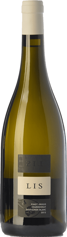 38,95 € Free Shipping | White wine Lis Neris I.G.T. Friuli-Venezia Giulia Friuli-Venezia Giulia Italy Chardonnay, Sauvignon White, Pinot Grey Bottle 75 cl