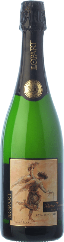 12,95 € | White sparkling Llopart Néctar Terrenal Reserva D.O. Cava Catalonia Spain Xarel·lo, Parellada Bottle 75 cl