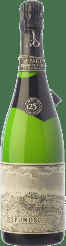 53,95 € Free Shipping | White sparkling Llopart Original 1887 Gran Reserva 2009 D.O. Cava Catalonia Spain Macabeo, Xarel·lo, Parellada Bottle 75 cl