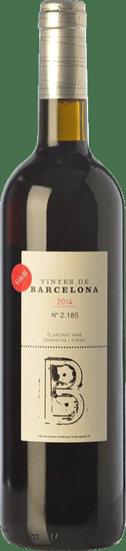 23,95 € | Red wine L'Olivera Vinyes de Barcelona Crianza D.O. Catalunya Catalonia Spain Syrah, Grenache Bottle 75 cl