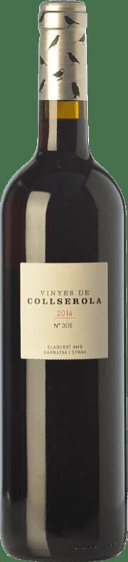 23,95 € | Red wine L'Olivera Vinyes de Collserola Crianza D.O. Catalunya Catalonia Spain Syrah, Grenache Bottle 75 cl