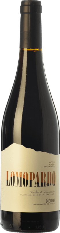 7,95 € Free Shipping | Red wine Lomopardo Joven D.O. Bierzo Castilla y León Spain Mencía Bottle 75 cl