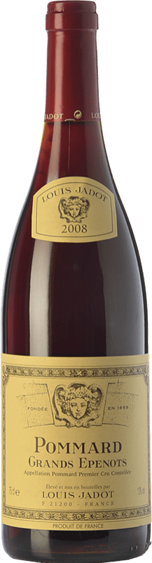 69,95 € | Red wine Louis Jadot 1r Cru Les Grands Epenots Crianza 2008 A.O.C. Pommard Burgundy France Pinot Black Bottle 75 cl
