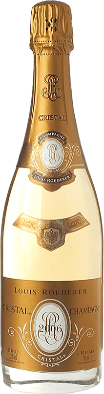 254,95 € | White sparkling Louis Roederer Cristal Brut Gran Reserva 2009 A.O.C. Champagne Champagne France Pinot Black, Chardonnay Bottle 75 cl