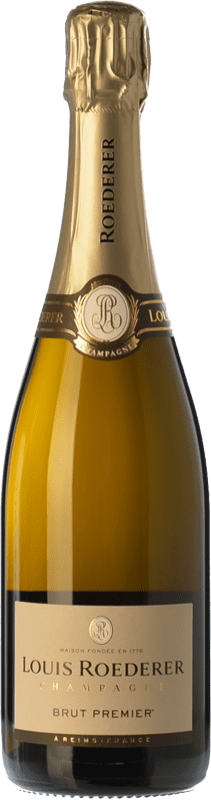 45,95 € | White sparkling Louis Roederer Premier Brut Gran Reserva A.O.C. Champagne Champagne France Pinot Black, Chardonnay, Pinot Meunier Bottle 75 cl