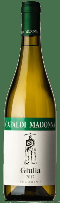 15,95 € | White wine Cataldi Madonna Giulia I.G.T. Terre Aquilane Abruzzo Italy Pecorino Bottle 75 cl