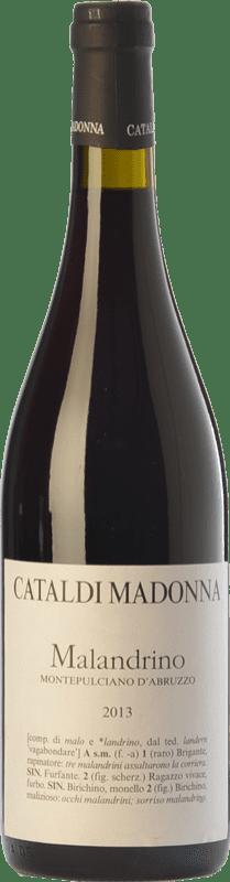 14,95 € | Red wine Cataldi Madonna Malandrino D.O.C. Montepulciano d'Abruzzo Abruzzo Italy Montepulciano Bottle 75 cl