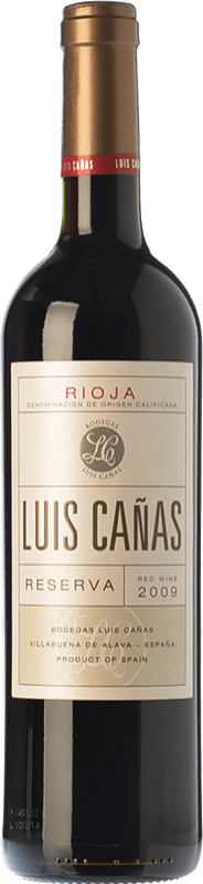 15,95 € | Red wine Luis Cañas Reserva D.O.Ca. Rioja The Rioja Spain Tempranillo, Grenache, Graciano, Mazuelo Bottle 75 cl