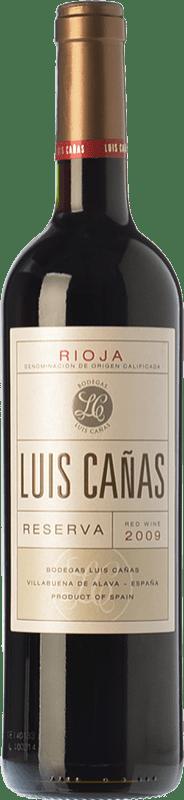 15,95 € Envoi gratuit | Vin rouge Luis Cañas Reserva D.O.Ca. Rioja La Rioja Espagne Tempranillo, Grenache, Graciano, Mazuelo Bouteille 75 cl