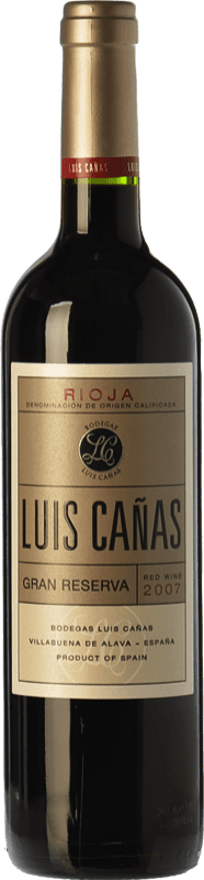 27,95 € | Red wine Luis Cañas Gran Reserva D.O.Ca. Rioja The Rioja Spain Tempranillo, Graciano Bottle 75 cl