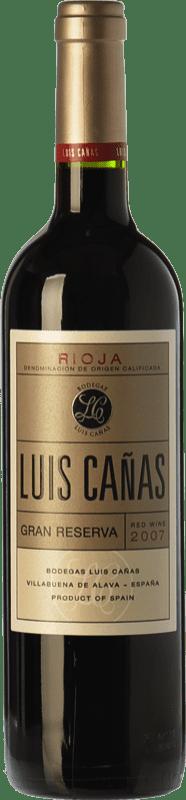 29,95 € Envoi gratuit | Vin rouge Luis Cañas Gran Reserva D.O.Ca. Rioja La Rioja Espagne Tempranillo, Graciano Bouteille 75 cl