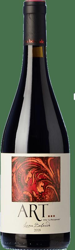 25,95 € Envío gratis | Vino tinto Luna Beberide Art Crianza D.O. Bierzo Castilla y León España Mencía Botella 75 cl
