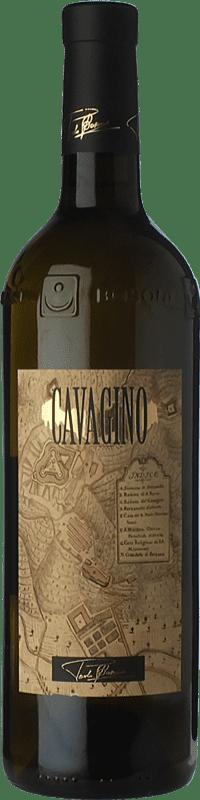 21,95 € Free Shipping | White wine Lunae Cavagino D.O.C. Colli di Luni Liguria Italy Vermentino Bottle 75 cl