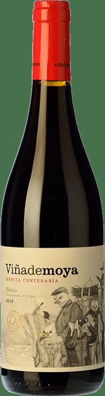 9,95 € Envío gratis | Vino tinto Luzdivina Amigo Viña De Moya Roble D.O. Bierzo Castilla y León España Mencía Botella 75 cl
