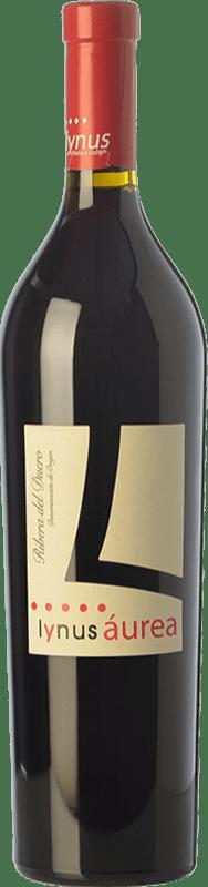 33,95 € Envío gratis | Vino tinto Lynus Aurea Reserva D.O. Ribera del Duero Castilla y León España Tempranillo Botella 75 cl