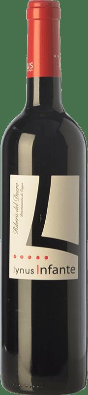 9,95 € Envío gratis | Vino tinto Lynus Infante Joven D.O. Ribera del Duero Castilla y León España Tempranillo Botella 75 cl