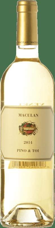 8,95 € | White wine Maculan Pino & Toi D.O.C. Breganze Veneto Italy Pinot Grey, Pinot White, Tocai Friulano Bottle 75 cl
