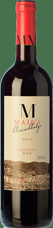 14,95 € Free Shipping | Red wine Maius Assemblage Crianza D.O.Ca. Priorat Catalonia Spain Grenache, Cabernet Sauvignon, Carignan Bottle 75 cl
